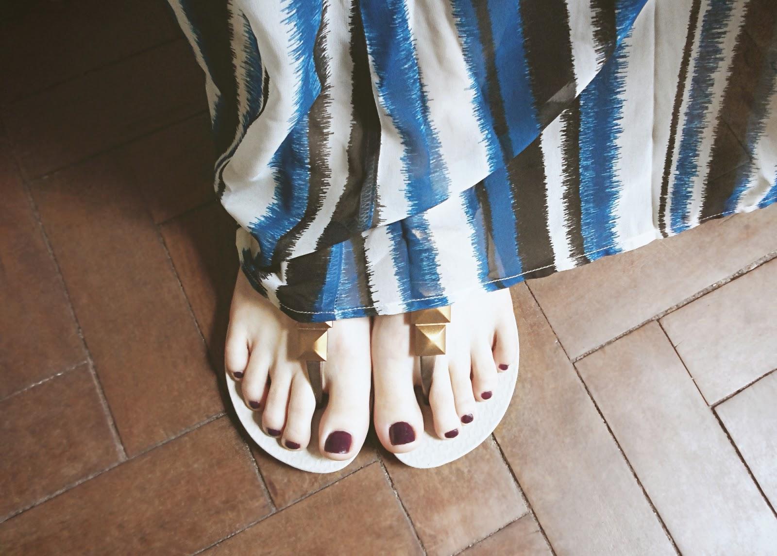ipanema brazil shoes sandals flip flops ootd outfit liz breygel pictures