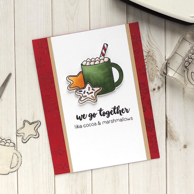 Sunny Studio Stamps: Mug Hugs customer card by Creations Galore