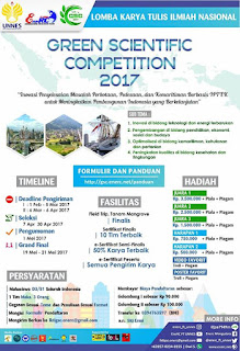 Lomba Karya Tulis Ilmiah Nasional GSC 2017 by Univ. Negeri Semarang
