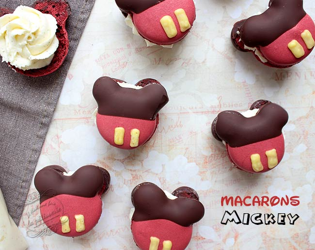 macarons mickey recette