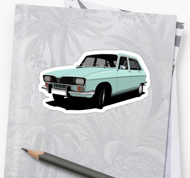 Renault 16 TL Stickers