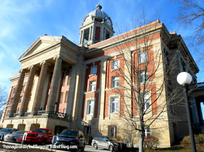 The Historic Mercer County Courthouse in Pennsylvania