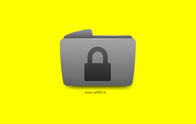 Cara Lock Folder Tanpa Software