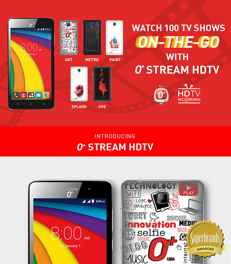 O+ Stream HDTV Announced, Budget DTV Ready Smartphone For PHP 3995!