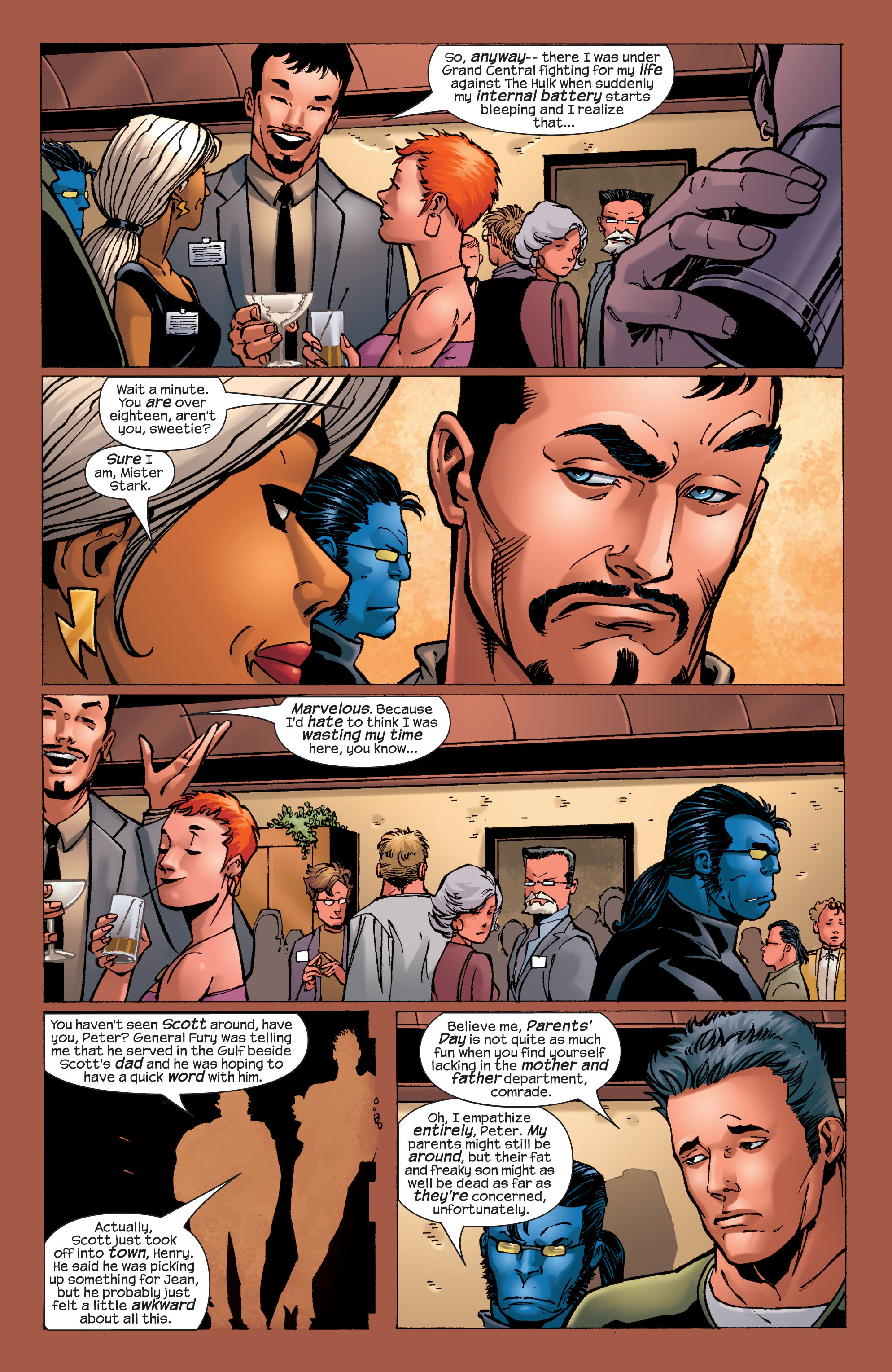 Read online Ultimate X-Men comic -  Issue #32 - 16