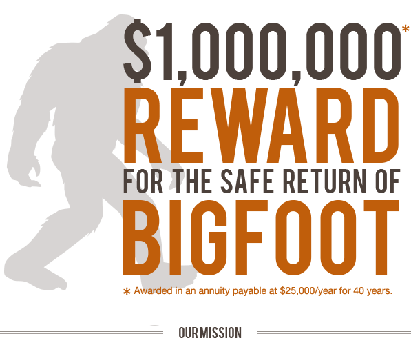Bigfoot News Bigfoot Lunch Club 4 1 13 5 1 13