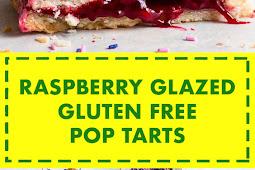 Raspberry Glazed Gluten Free Pop Tarts