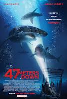 47 Meters Down Movie Poster 4