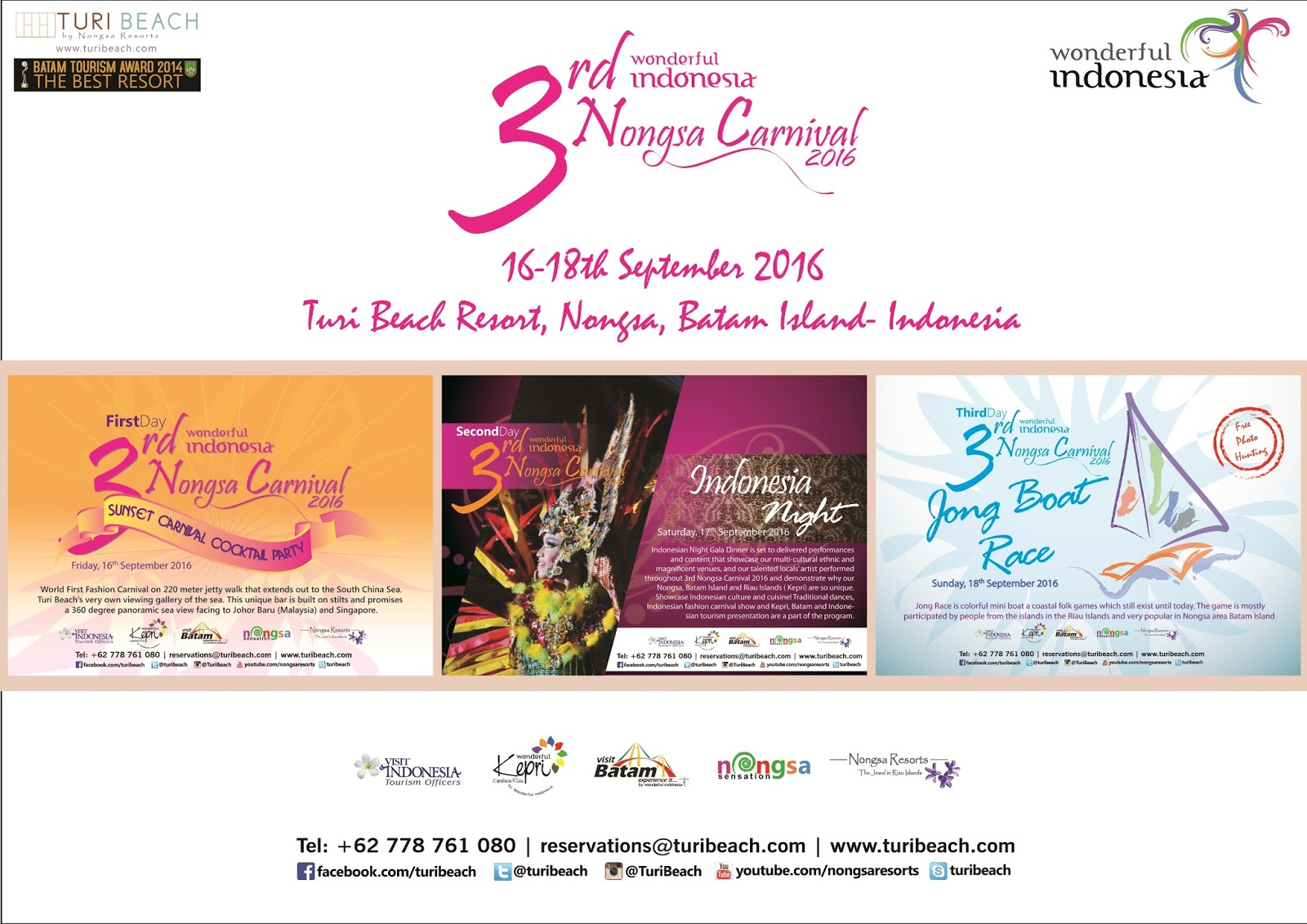 3rd Nongsa Carnival 2016 Wondefull Indonesia