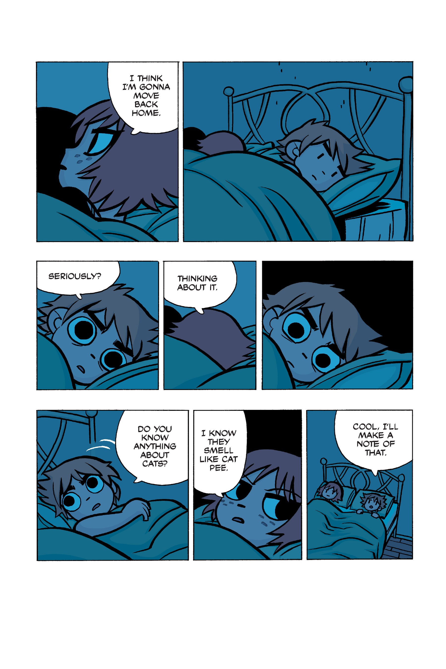 Read online Scott Pilgrim comic -  Issue #5 - 153