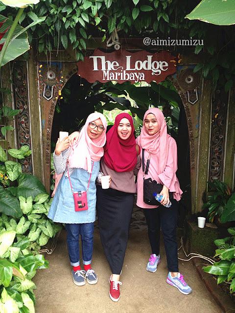 lokasi foto The Lodge Maribaya