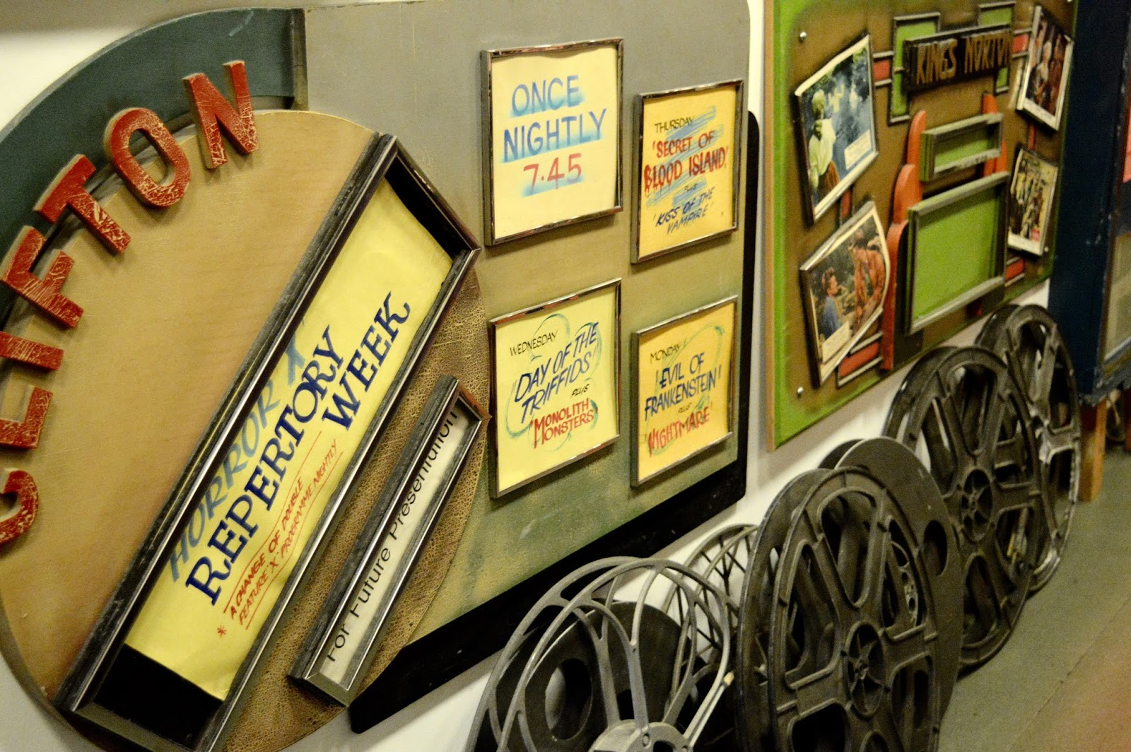 Memorabilia at the Cinema Museum