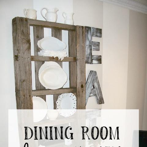 Dining Room Decor Updates