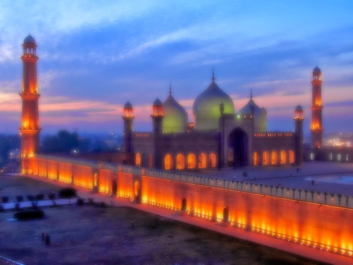 beautiful wallpaper: badshahi mosque Wallpapers