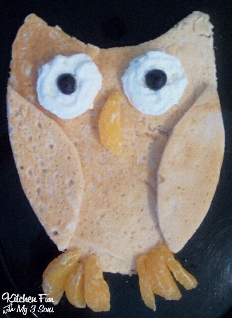 Owl Pancakes Kitchen Fun With My 3 Sons