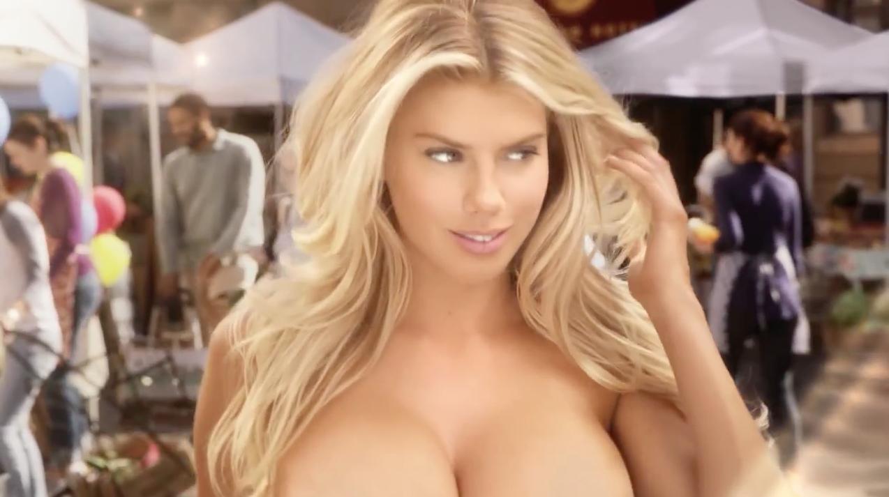 La modelo Charlotte McKinney ha duplicado sus followers en Twitter por su anuncio en la Super Bowl
