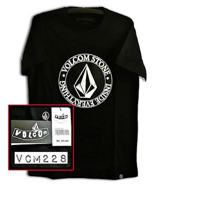 Kaos Distro Surfing Skate VOLCOM Premium Kode VCM228