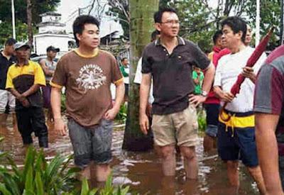 Makin Kalap, Ahok Malah Tantang Anies Baswedan Taruhan Terkait Banjir Jakarta
