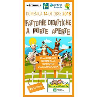 Fattorie didattiche aperte 14 ottobre Lombardia