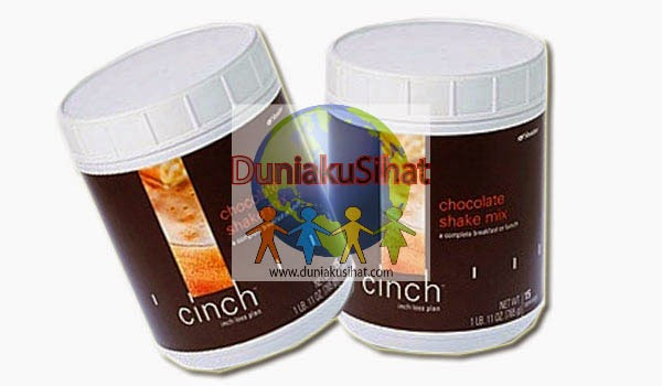 Shaklee Cinch Shake Mix (Canister) - Chocolate