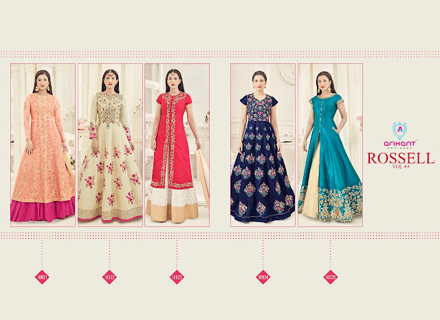 Rossell Vol-4 by Arihant Designer  Full Catalog