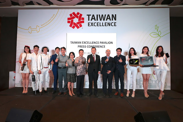 Taiwan Excellence Pavilion Press Conference 2017