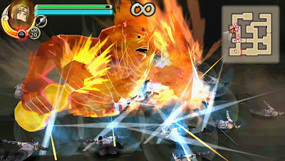 Download Naruto Shipudden : Ultimate Ninja Impact ISO/CSO For PPSSPP