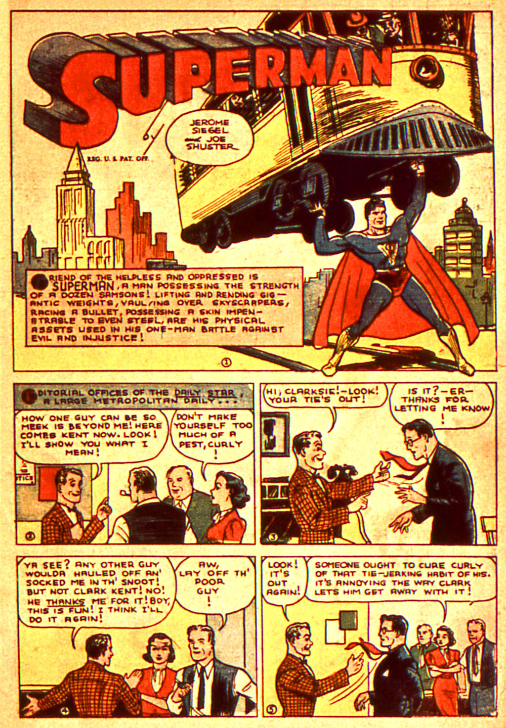 Read online Action Comics (1938) comic -  Issue #7 - 4
