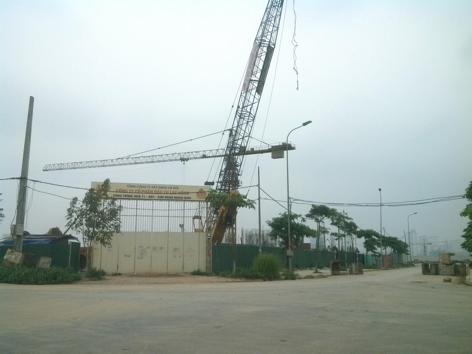 Chung cư N01T1 Ngoại Giao Đoàn - Công ty cổ phần Đầu tư Lạc Hồng