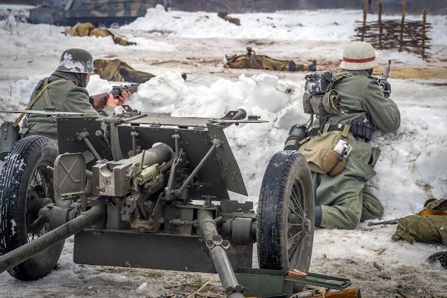 Реконструкция боя при Соколово 9.03.2018 - 39
