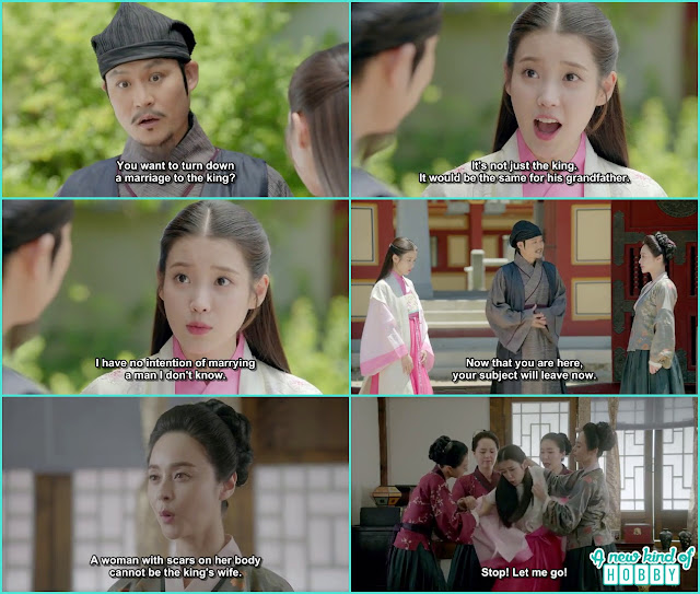 hae so was in the palace the royal concubine searched her body id there is any scar on her body if so she can't be kings wife - Moon Lovers Scarlet Heart Ryeo - Episode 6 Review