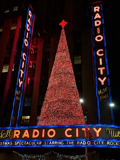 Radio City Music Hall Marquee, 6th Avenue, New York, New York