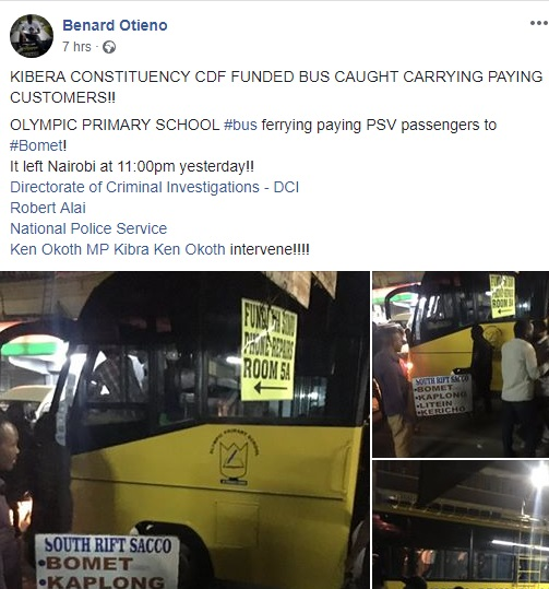 carry%2B5 - Kibera constituency CDF funded bus caught operating as PSV, it was ferrying passengers from Nairobi to Bomet(PHOTOs)