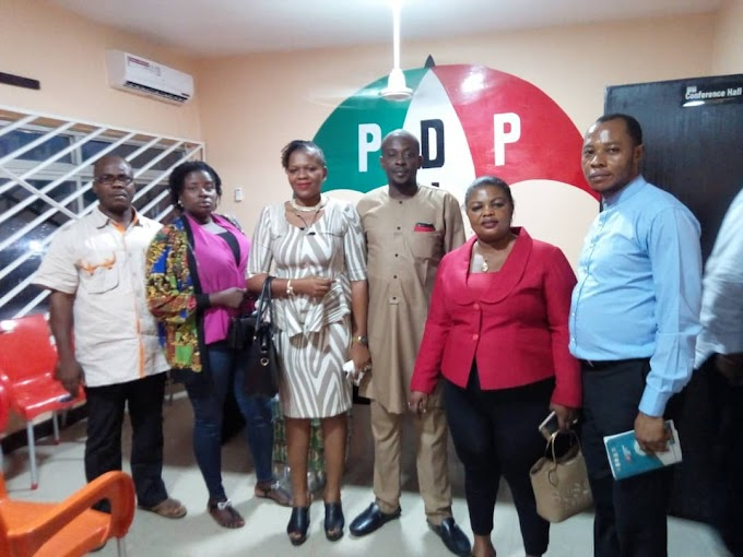 Helen isamoh consults state  PDP leadership on her ambition