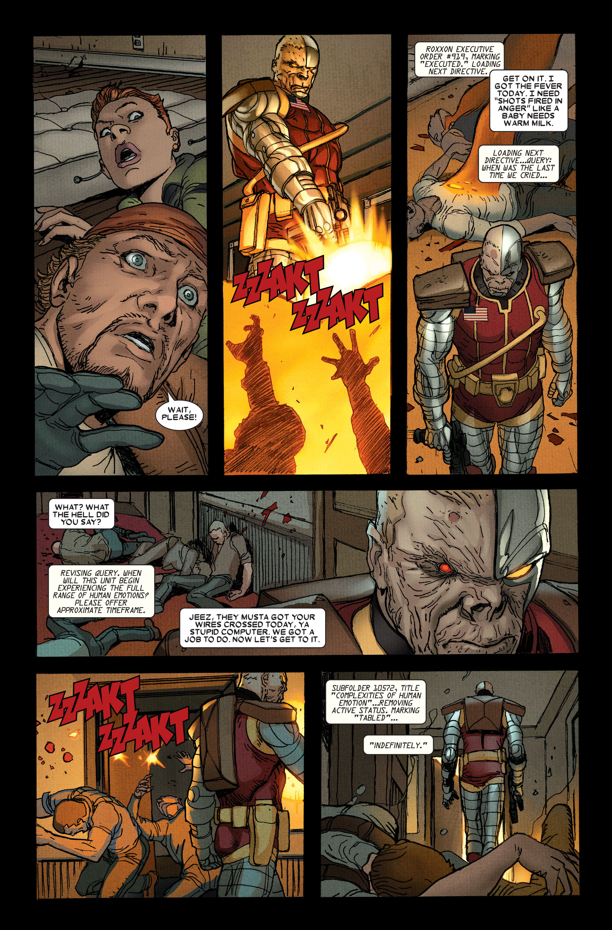 Read online Wolverine: Weapon X comic -  Issue #15 - 5