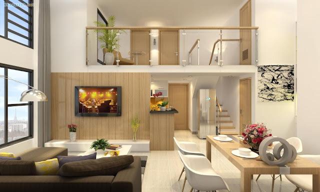Mẫu thiết kế căn hộ của chung cư Gelexia Riverside