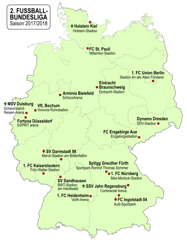 World Football Badges News Germany 2017 18 2 Bundesliga