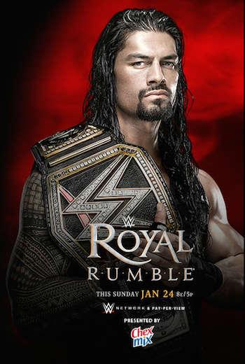 WWE Royal Rumble 2016 PPV