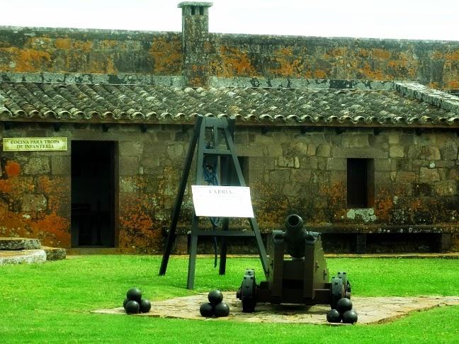 Cozinha da Tropa de Infantaria, no Fuerte de San Miguel, Chuy