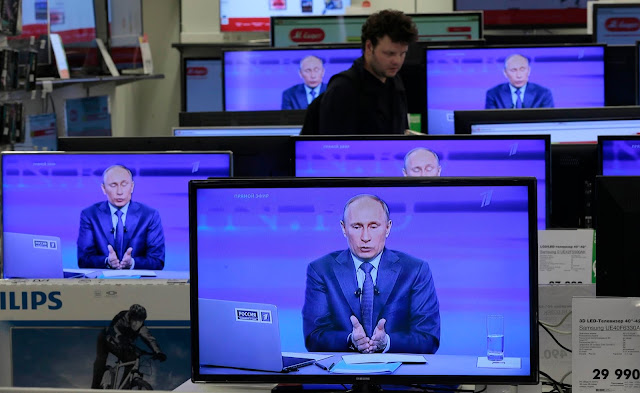 Vladimir Putin's War on Information