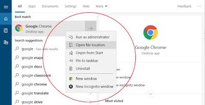 Mengambil Screenshot Klik Kanan pada WIndows 10 Terbaru
