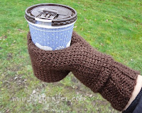 Beverage Cozy Mitt