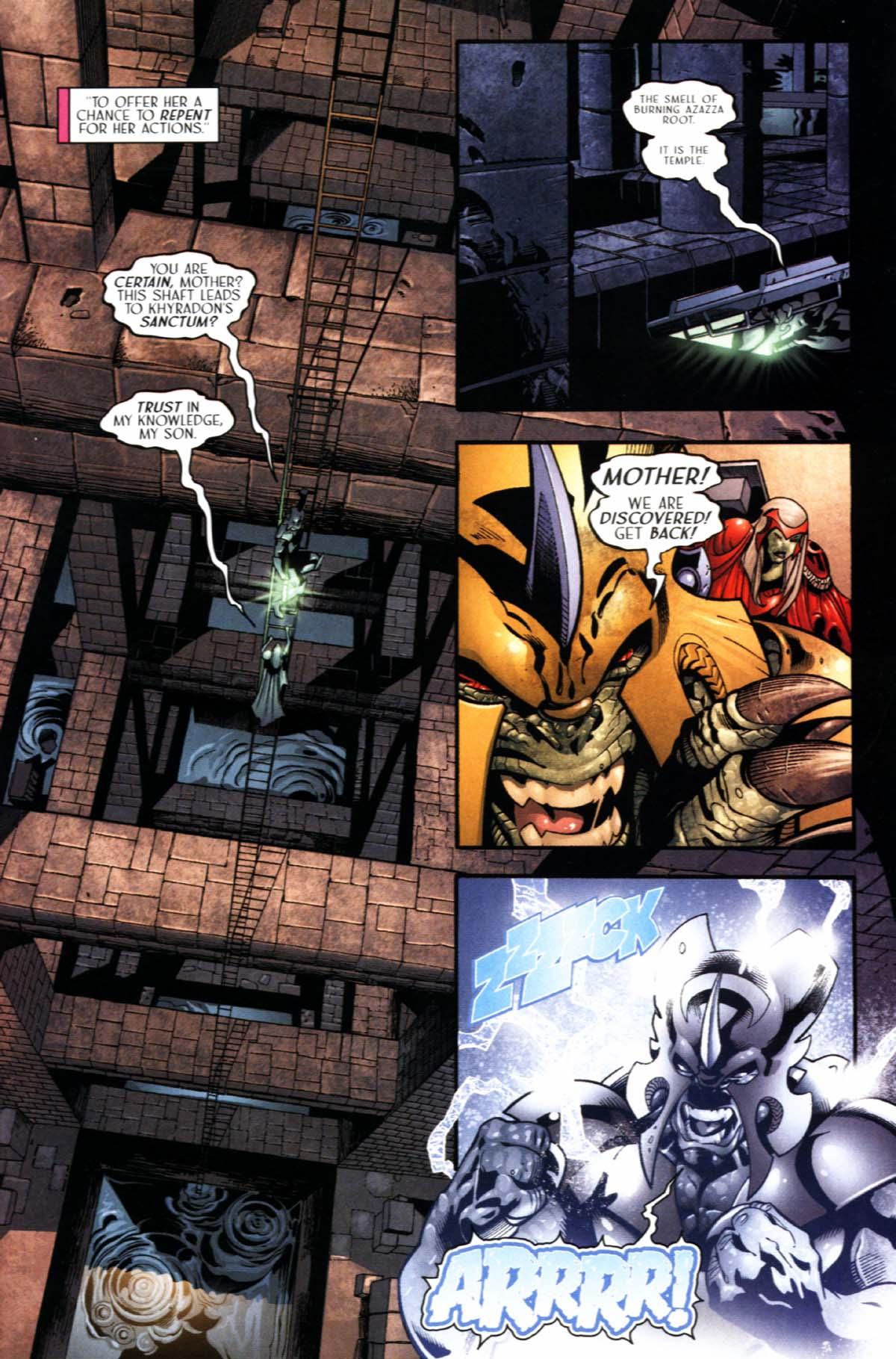 Read online Sigil (2000) comic -  Issue #21 - 25