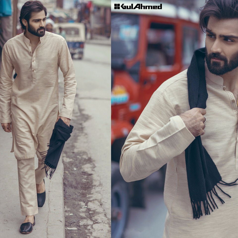 Gul Ahmed Latest Winter Men's Collection 2016