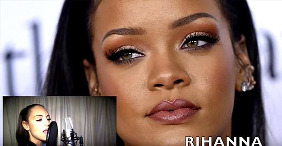 Jenny Marsala imita cantoras famosas - Rihanna