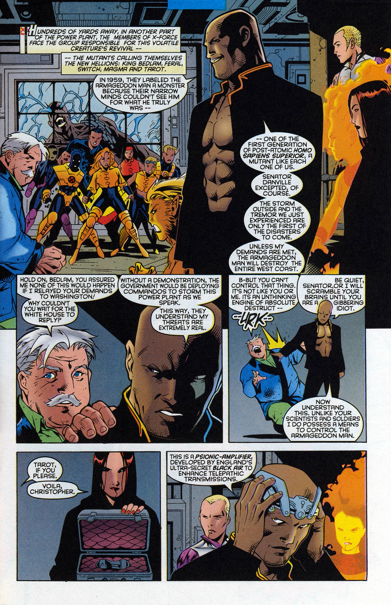 Read online X-Force (1991) comic -  Issue #90 - 5