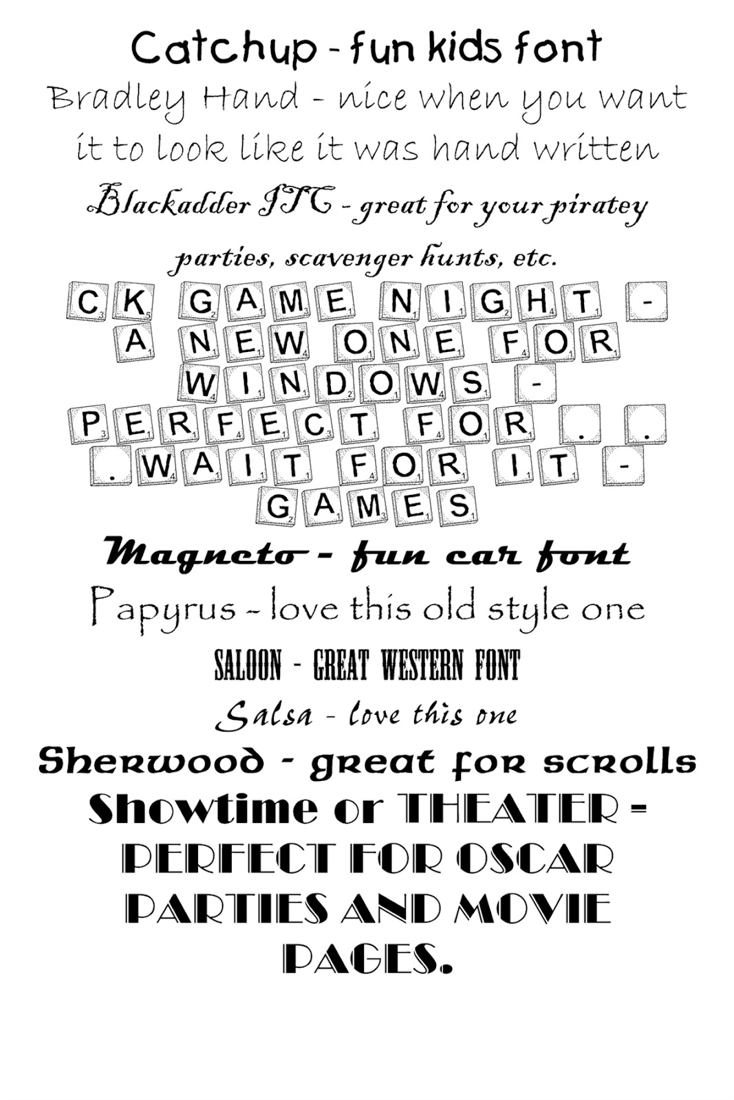 meagan u0026 39 s how to  how to work with cool fonts