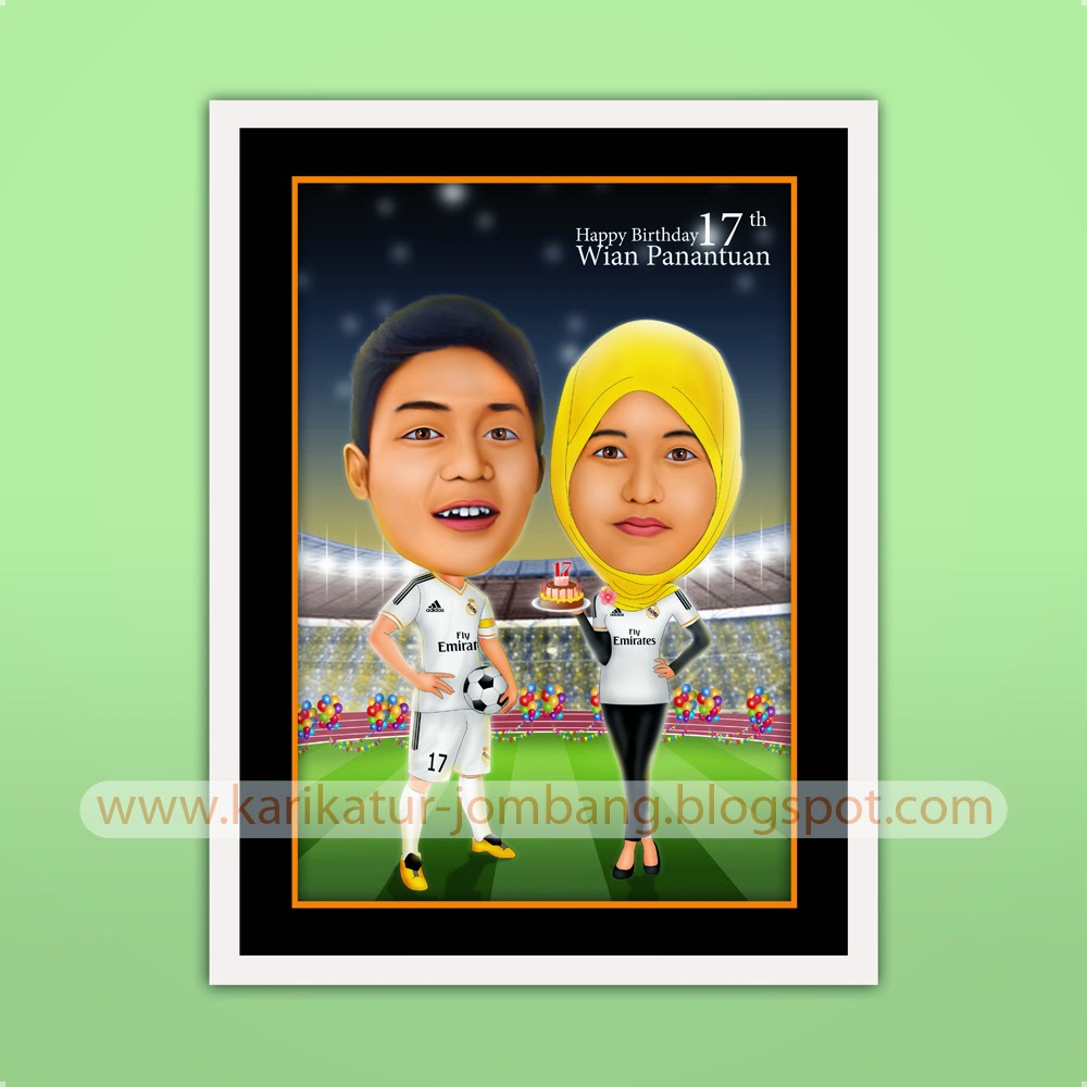Gambar Kartun Couple Madrid