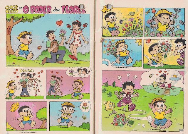 Interpretando o texto da História do Chico Bento em quadrinhos. Atividades de interpretação de texto, completo e com gabarito, contendo historinha em quadrinhos e perguntas para os alunos responderem.