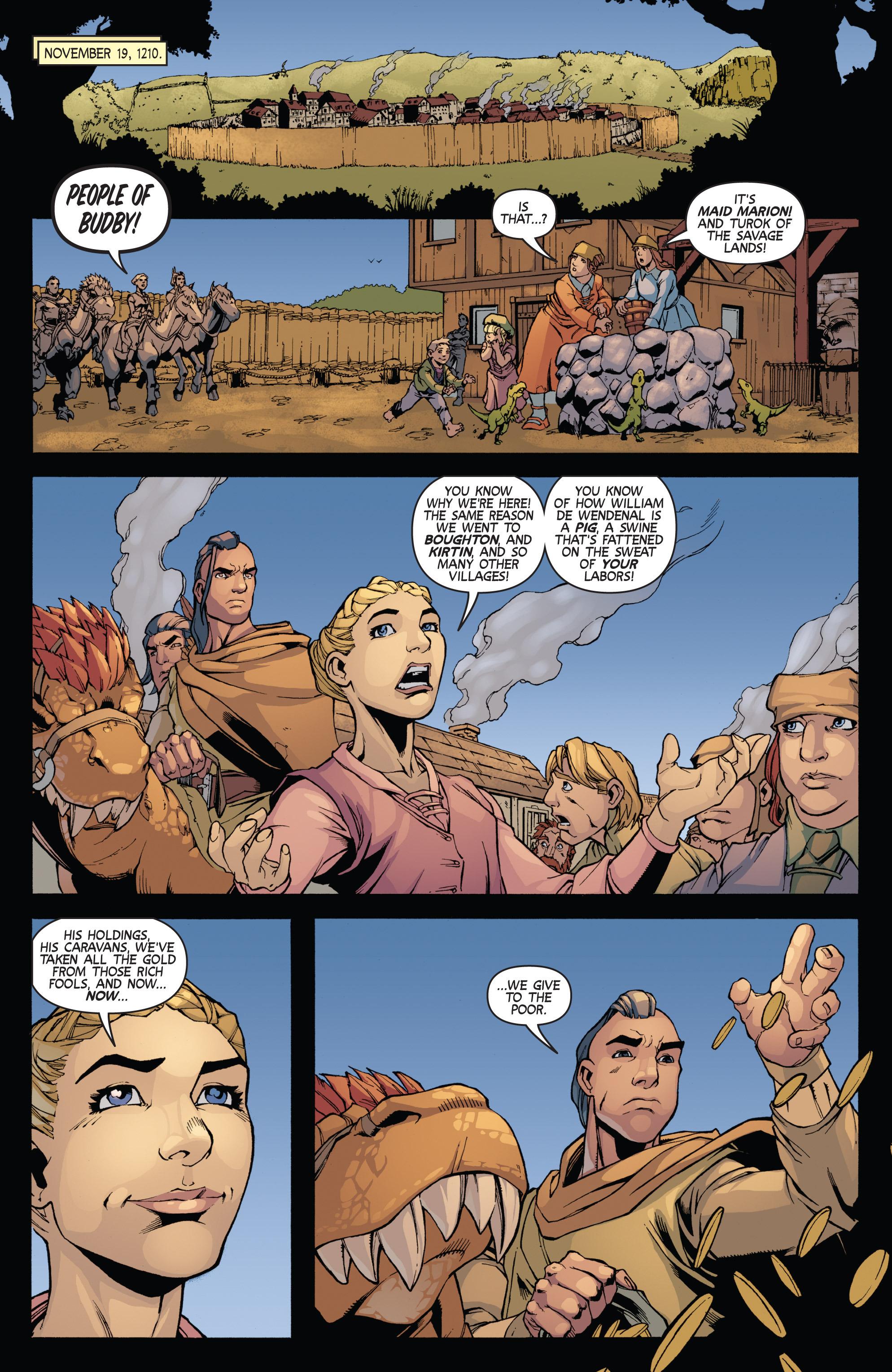 Read online Turok: Dinosaur Hunter (2014) comic -  Issue # _TPB 3 - 62